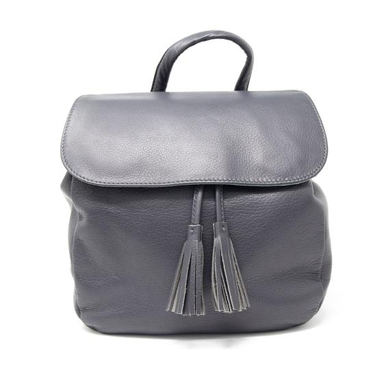 Leather Women's Harley Drawstring Backpack (5021)