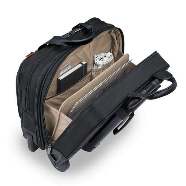 Briggs & Riley @work Medium 2-Wheel Expandable Brief (KR420X)