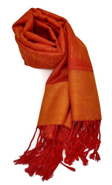 Pashmina (Bright Orange)