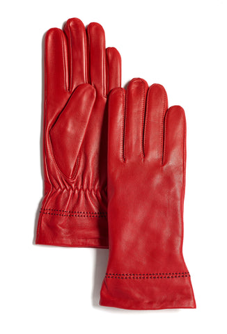 Ladies Sheepskin Leather Gloves (Available in other colours)