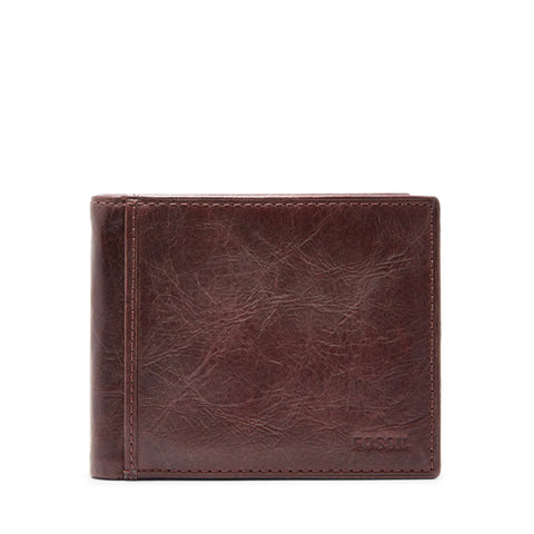 Ingram RFID Bifold with Flip ID Men's Leather Wallet