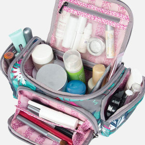 Mini Trolley Cosmetic Toiletry Case