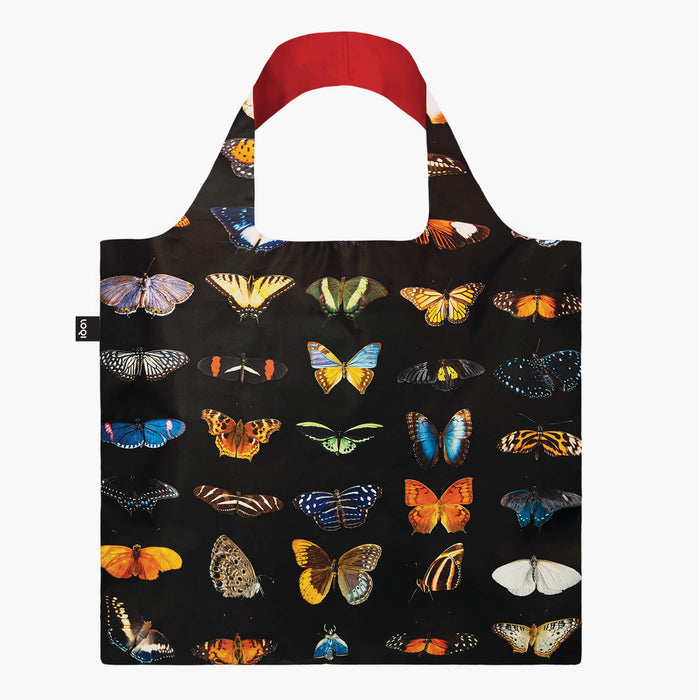 Loqi Tote Bag with Zip Pouch - Butterflies & Moths