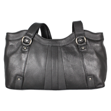 Load image into Gallery viewer, Leather Ladies' Handbag Top Zip with Twin Shoulder Straps (OB-7225)