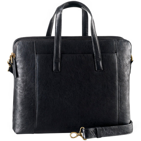 Leather Ladies' Briefcase Tablet/Laptop (PB-8607)
