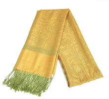 Load image into Gallery viewer, Pashmina (Gold/Green)