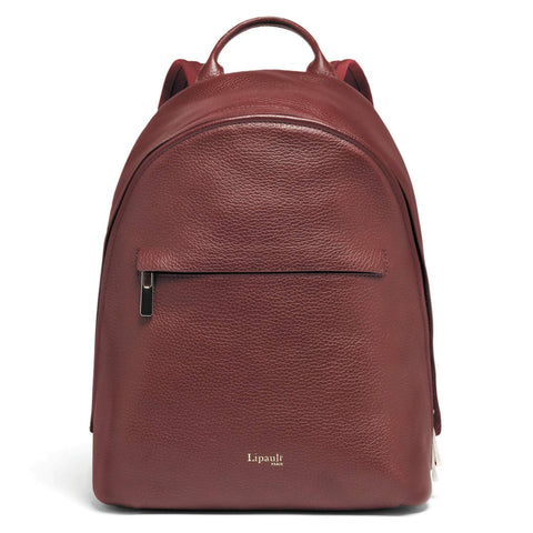 Lipault Invitation Round Leather Backpack (125964)