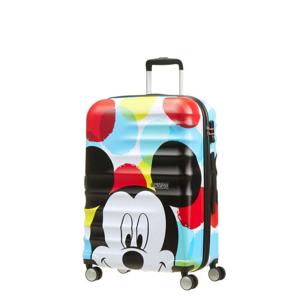 American Tourister Wavebreaker Disney Spinner Medium Mickey Close Up