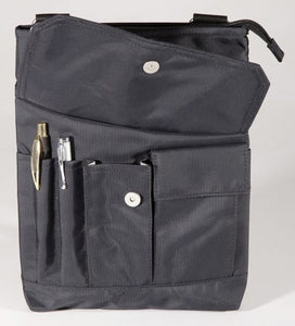 Nylon Organizer/X-Body WITH Top Zip (PW-20200)