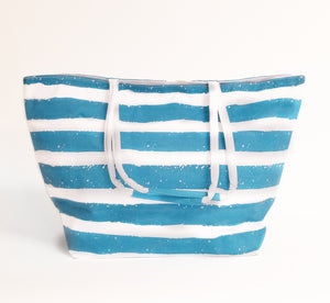 Beach Bag Pineapple Stripe