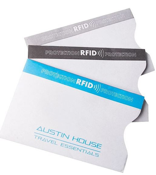 Austin House RFID Card Sleeves Set/3 (AH62CS91)