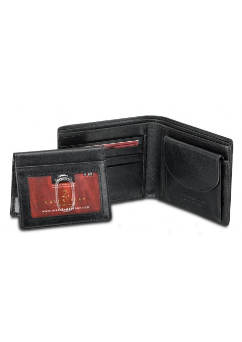 Leather Men's Wallet with Removable Passcase RFID (52955)