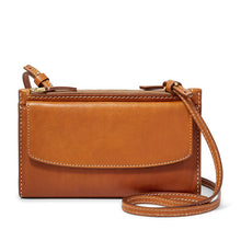Load image into Gallery viewer, Leather Crossbody Mini Bag Sage Collection