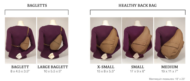Healthy Back Bag - Small Baglett Microfiber (7100)