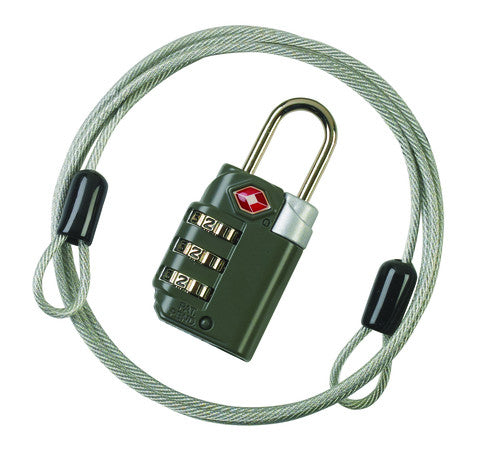 Travel Sentry® Combo Lock with Cable