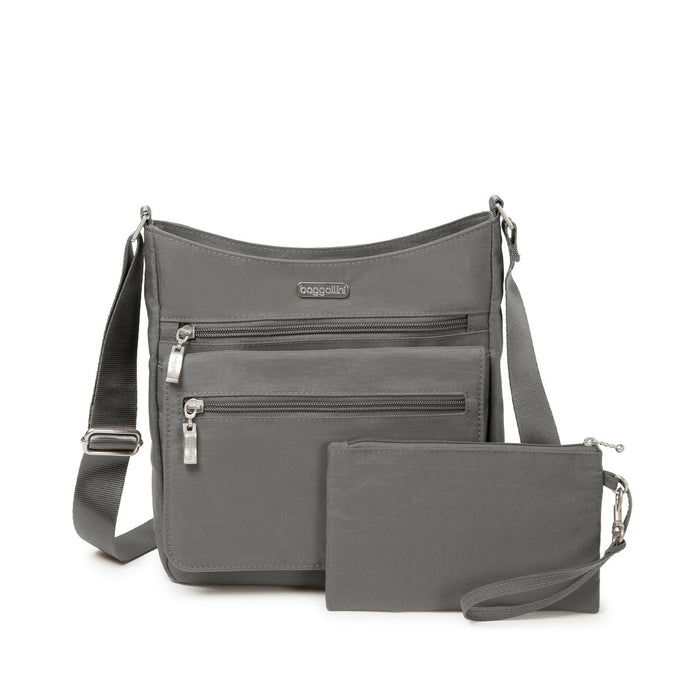 Top Zip Flap Crossbody