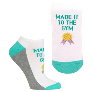 Women's Low Cut Made It To The Gym Socks (HOSL0008)