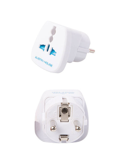 Austin House Universal Grounded Adapter Plug (H)