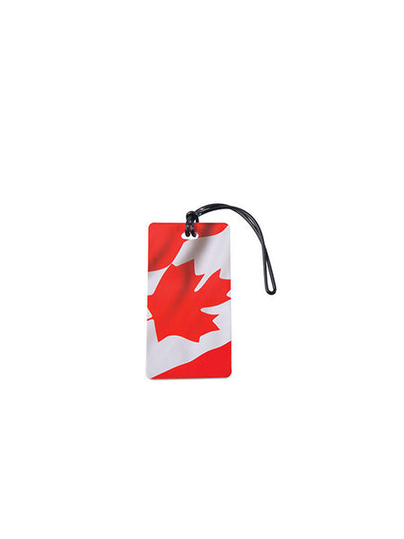 Waving Canada Flag Luggage Tag
