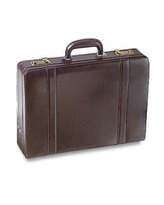 Leather Attaché Case Expandable (86460)