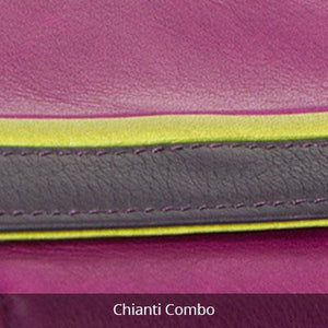 Leather Women's Clutch Wallet RFID 1408
