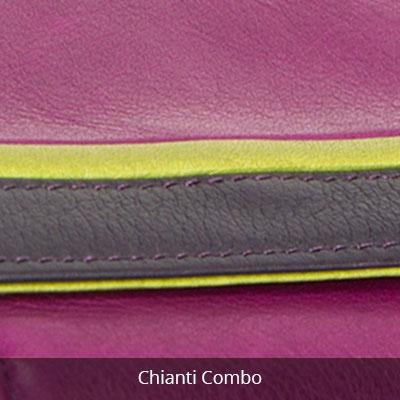Leather Women's Clutch Wallet (1408)