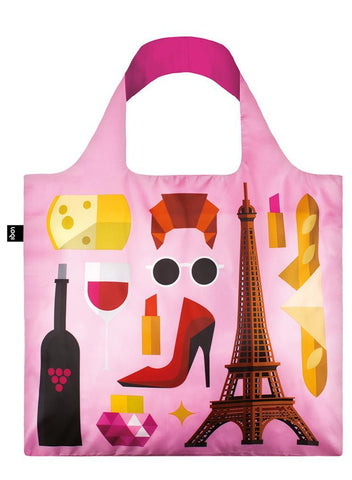 Loqi Shoppers Tote Hey Paris