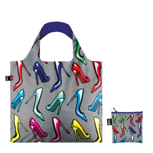 Loqi Shoppers Tote Pop High Heels
