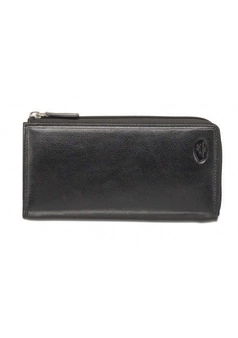 Leather Ladies' Clutch Wallet RFID (52951)