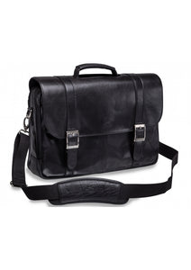Leather Briefcase Litigator Laptop Compatible (95-600)
