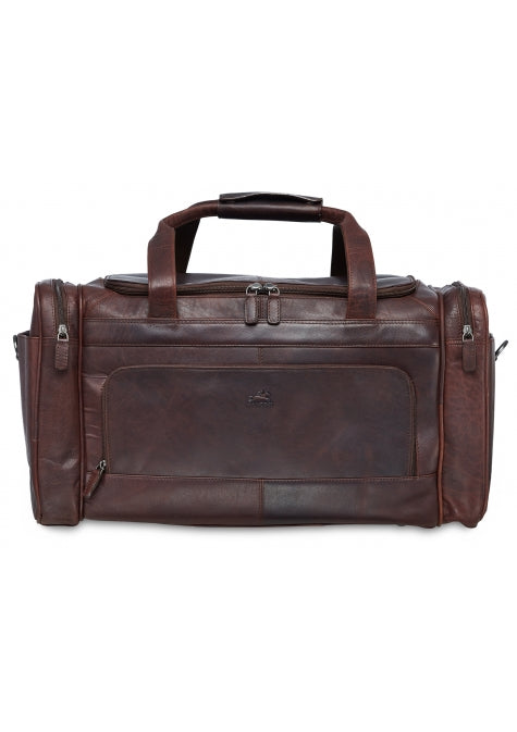Leather Duffle Bag (99-5470)