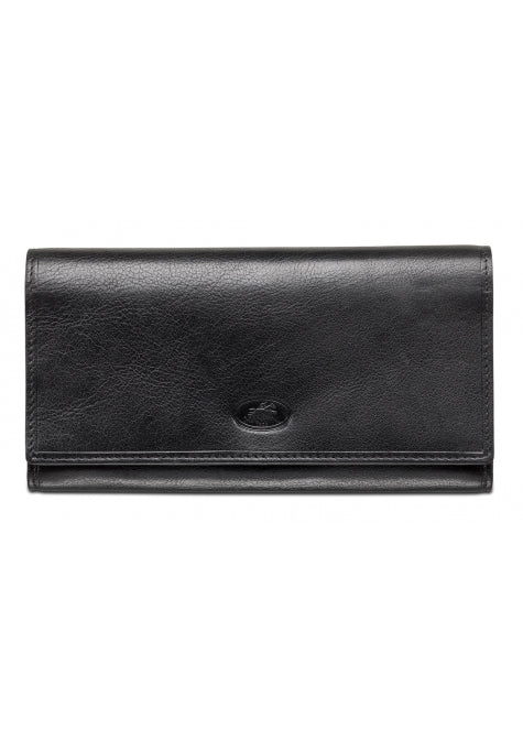 Leather Ladies' Clutch Wallet RFID (52956)