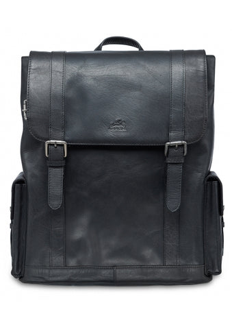 Leather Backpack for Laptop and Tablet RFID (99-5471)