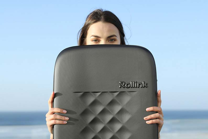 Rollink Flex 21 Foldable Wheeled Carry-On
