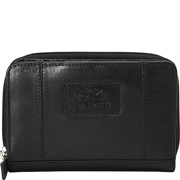 Leather Ladies' Clutch Wallet RFID (8700183)