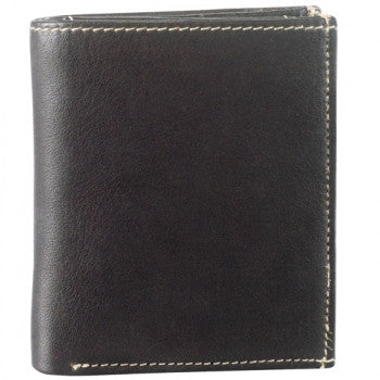 Leather Men's Wallet Show Card with Wing (DR-8205)