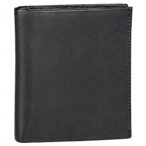 Leather Men's Wallet with Center Wing (TU-809)