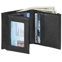 Load image into Gallery viewer, Leather Men's Wallet with Center Wing (TU-809)