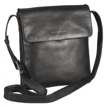 Leather Ladies' Handbag Slim Flap (OB-7150)