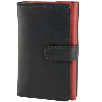 Leather Ladies' Wallet Tri-Fold (TU-781)