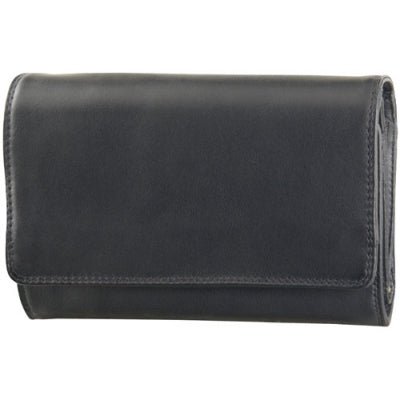 Leather Ladies' Wallet Three Compartment (TU-749)