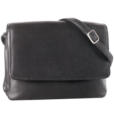 Leather Ladies' Handbag Small Half Flap Shoulder (CP-8749)