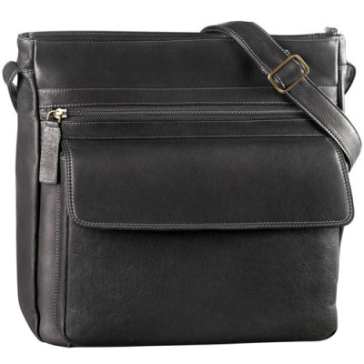 Leather Handbag Large Multi Compartment Tablet Friendly (DR-8038)