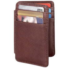 Load image into Gallery viewer, Leather Men's Wallet Double Sided Card Holder (FB-1931)