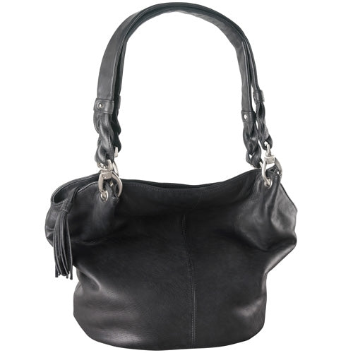 Leather Ladies' Handbag (FB-2141)