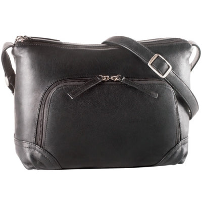 Leather Ladies' Handbag  (CH-1182)