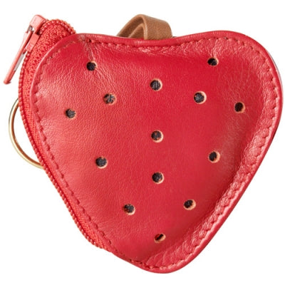 Leather Accessories Coin Pocket Strawberry (SA-106)