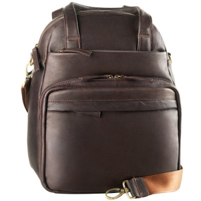 Leather Organizer Backpack Multi Compartment (PB-9702)