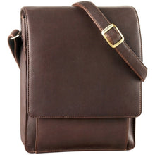 Load image into Gallery viewer, Leather Messenger Bag (PB-8123)