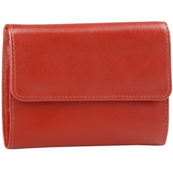 Leather Ladies' Wallet Slim Show Card (AZ-542)
